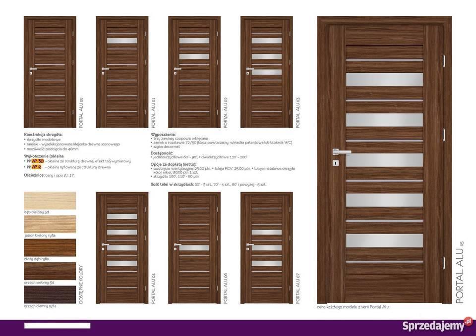 drzwi wewnętrzne ramowe i modułowe 3d Drzwi i okna Warszawa