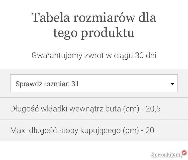 Samdały Geox Respira 31 mazowieckie Warszawa
