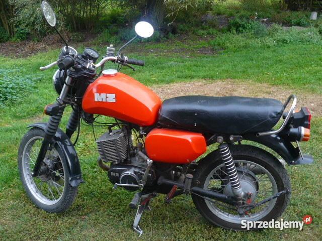 motor MZ ETZ 150 Naprawdę Rok produkcji 1989 Wąbrzeźno