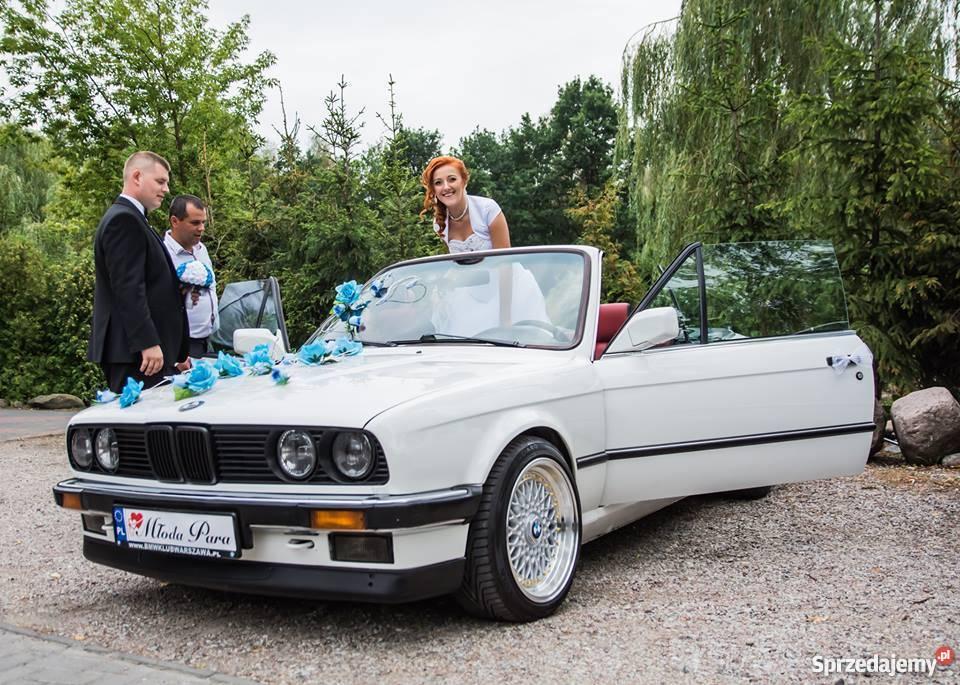 Auto do Ślubuwesele BMW E30 cabrio Warszawa