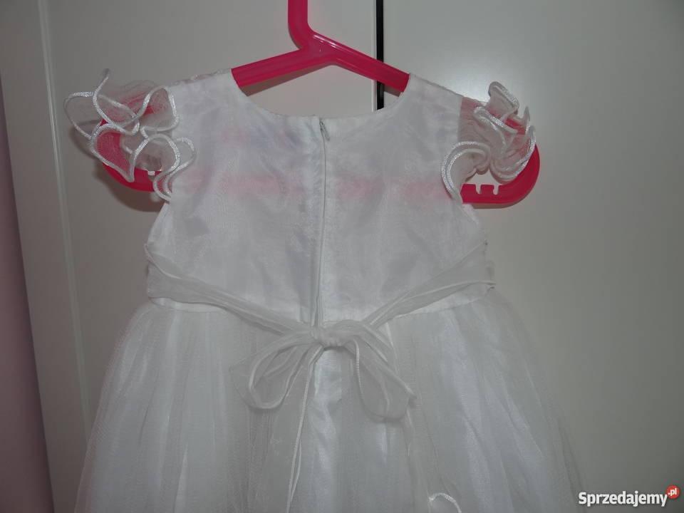 f3dce7a72b SUKIENKA biała 104 ślub wesele święta Szczutkowo sprzedam