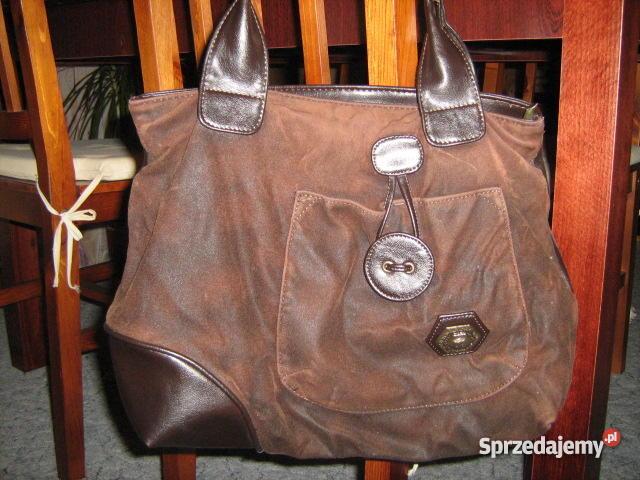 b7fb74653b3e7 torebka brązowa, bardzo ładna, pakowna a jednocześnie zgrabna ...