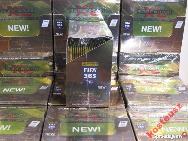 Zaktualizowano Karty FIFA 365 - BOX 50 saszetek !!! WYPRZEDAŻ !!! OSTATNIE EN41