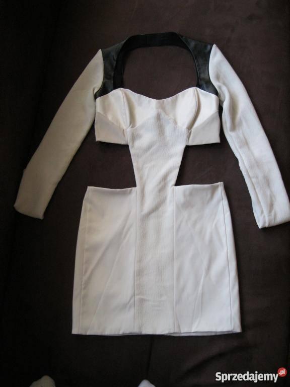 0a96a1ad74 Sukienka ASOS S-M z wycięciami Modna Łomża - Sprzedajemy.pl