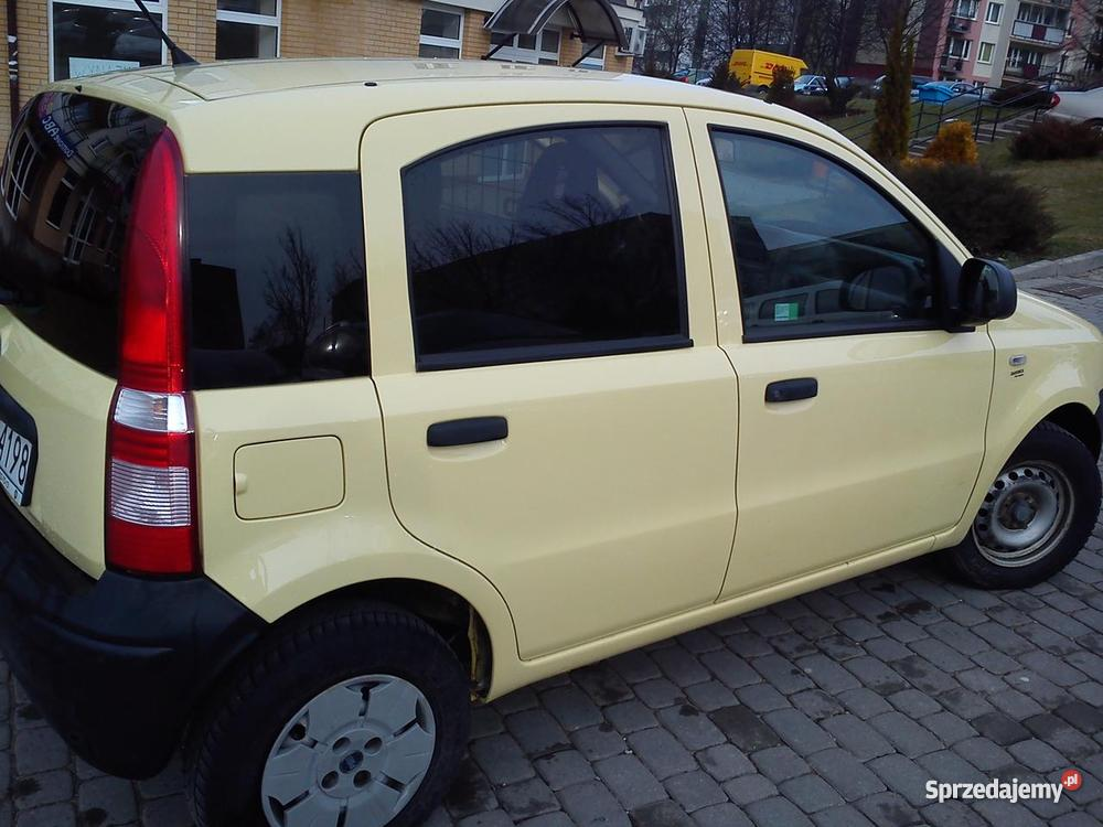fiat panda van benzyna gaz faktura vat. Black Bedroom Furniture Sets. Home Design Ideas