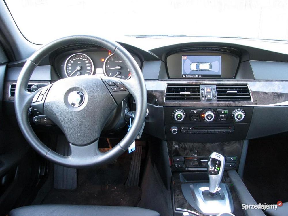 Nieuszkodzony BMW 525 E60 automatyczna skrzynia nieuszkodzony Włocławek