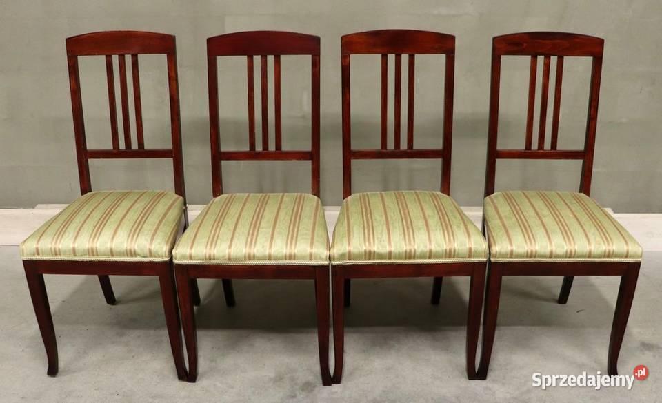 2764 stylowe krzesła, kpl 4 szt