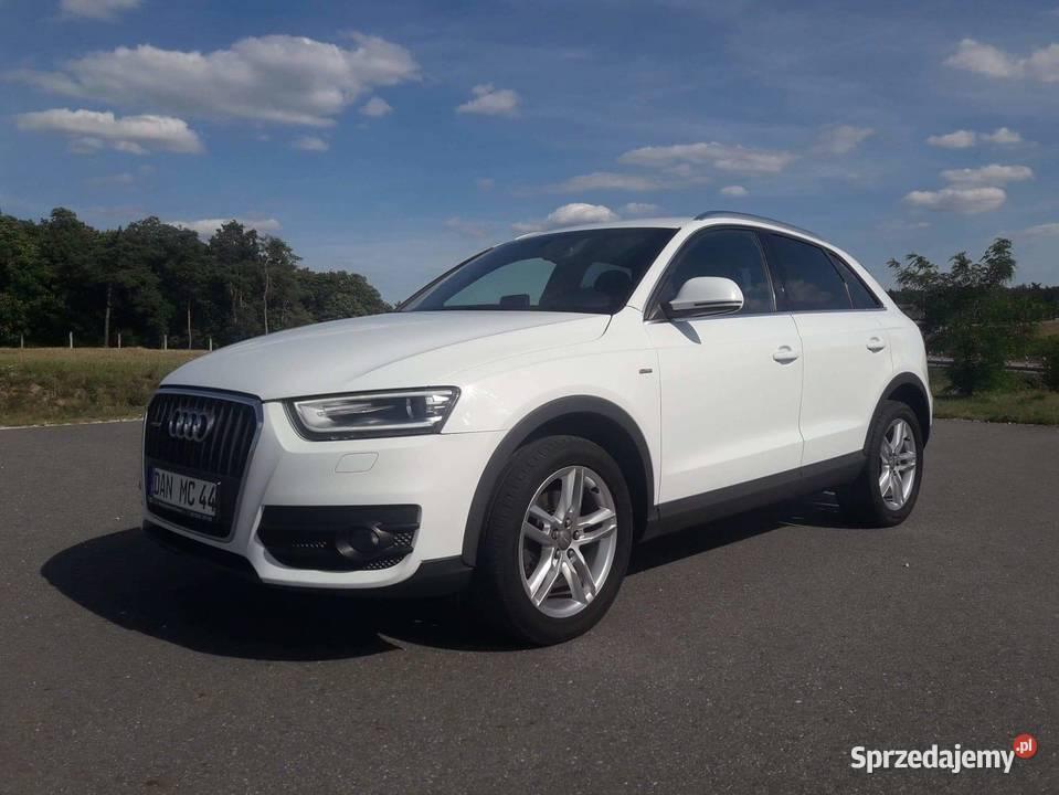 Audi q3 QUATTRO  S LINE 4x4 stan bdb