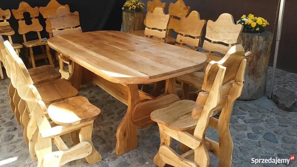 meble ogrodowe drewniane grotniki sprzedajemypl