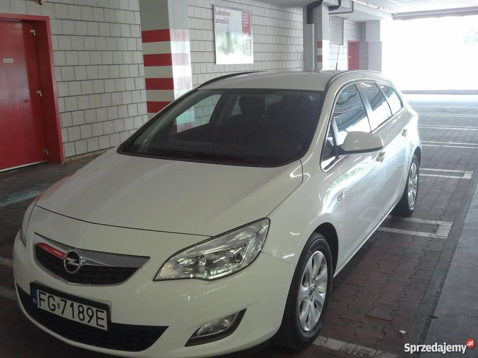 Zaawansowane Opel Astra J IV Sport Tourer 1,6 116KM kombi + instalacja Gorzów DT04