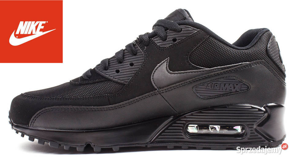 Nike Air Max 90 model 090 rozm 41,42,43,44,45, CZARNE
