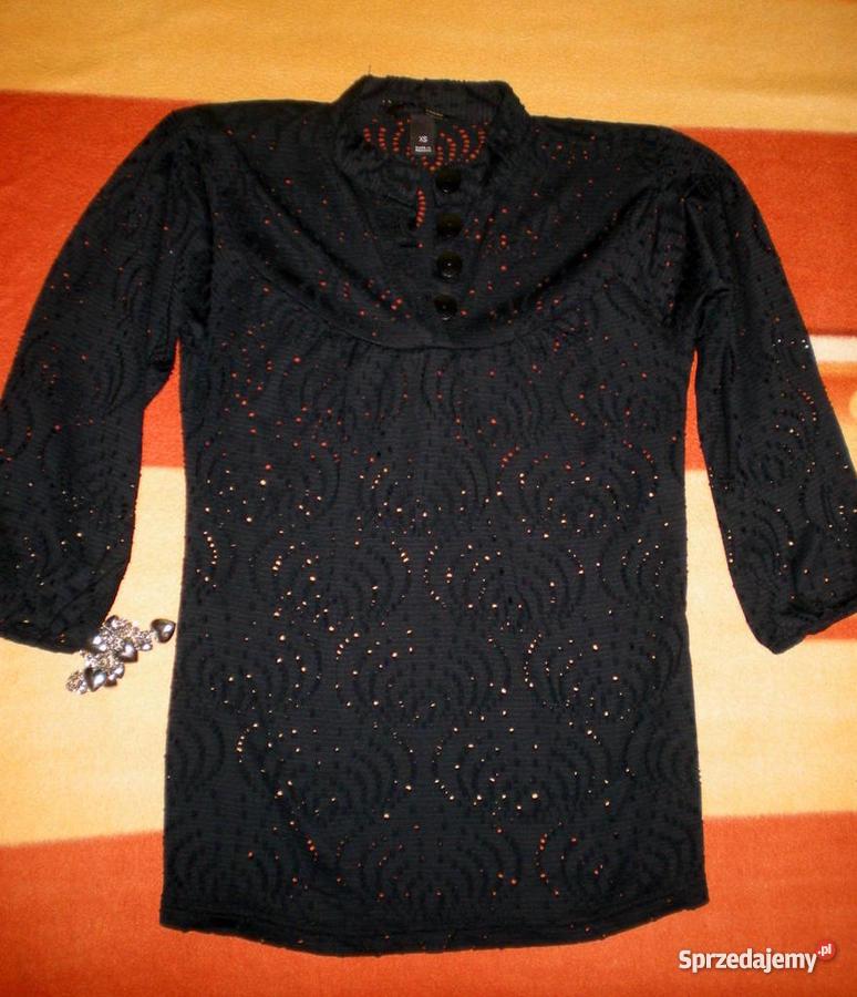 Nowa śliczna bluzka bawełniana z ażurową koronką LXL Słupsk