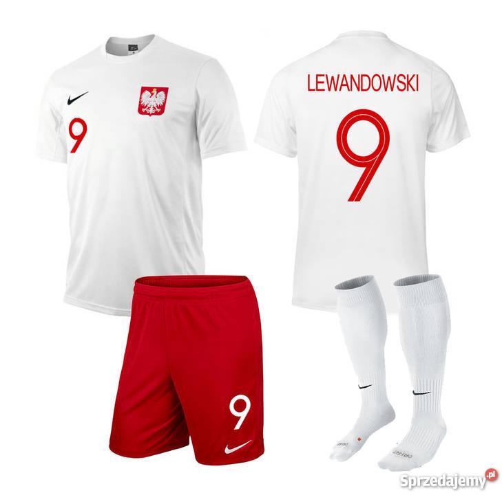 WOREK nike KOSZULKA POLSKI LEWANDOWSKI 9 KUBEK małopolskie Kraków