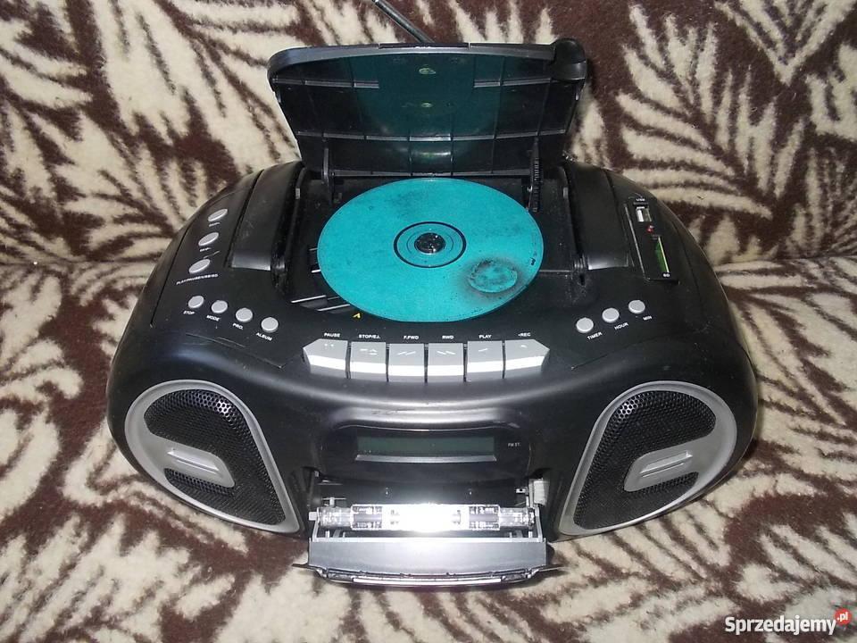 Radioodtarzacz CD MP3 SD USB Radio Magnetofon