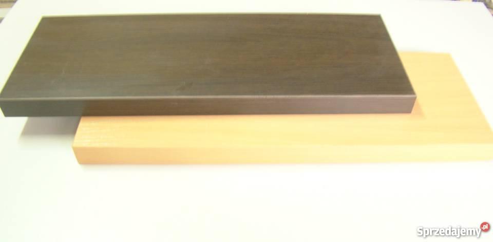 półka wisz.60x20 wys.3,6 różne kolory niewidoczne mocowania