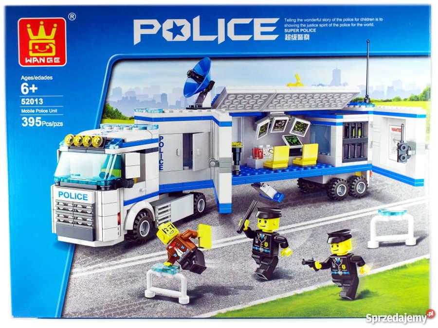 Zestaw Klocków Mobilna Jednosta Policji 395 Klocki Do Lego Warszawa