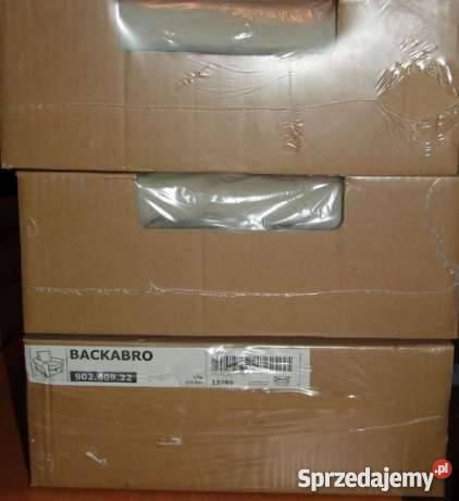 Nowe pokrycie fotela IKEA BACKARBO