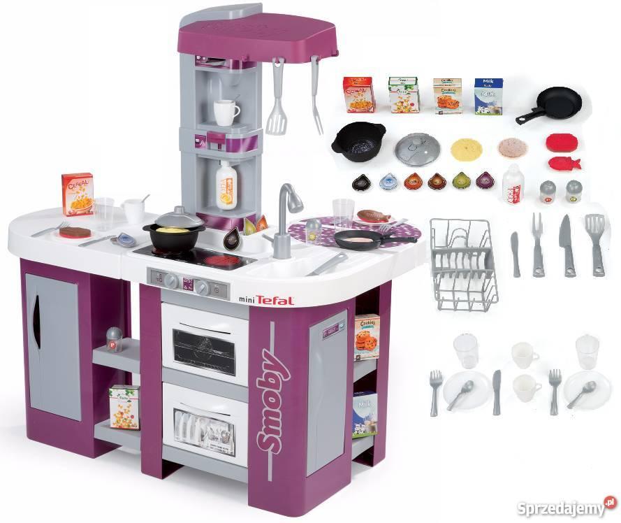 311005 Smoby Wielka Kuchnia Mini Tefal Studio Xl 36 Nowa
