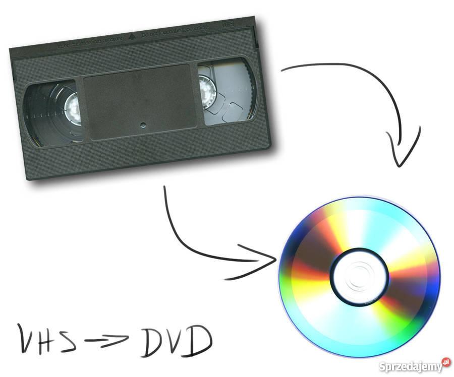 Przegrywanie kaset vhs na płyty dvd
