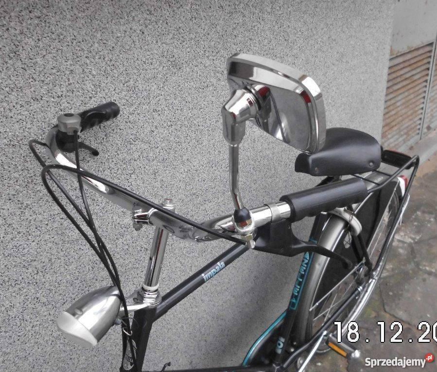 Lusterko do roweru stylowego Nowe chromowane Warszawa sprzedam