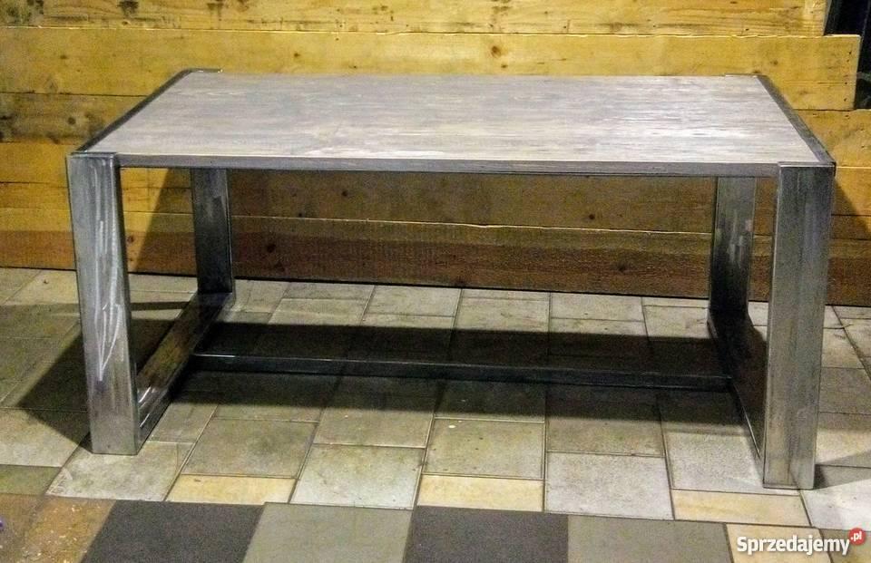Ława- niski stół do salonu loft Industrial z 1190zł