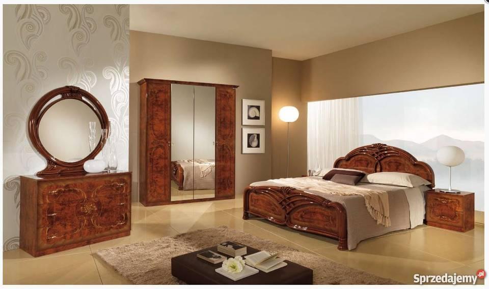 Angelica noce - sypialnia włoska z szafą 6/D