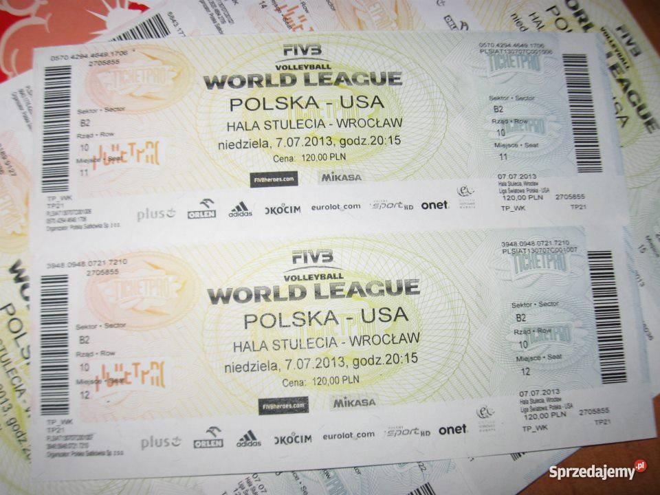 bilety na mecz siatkówki polska usa