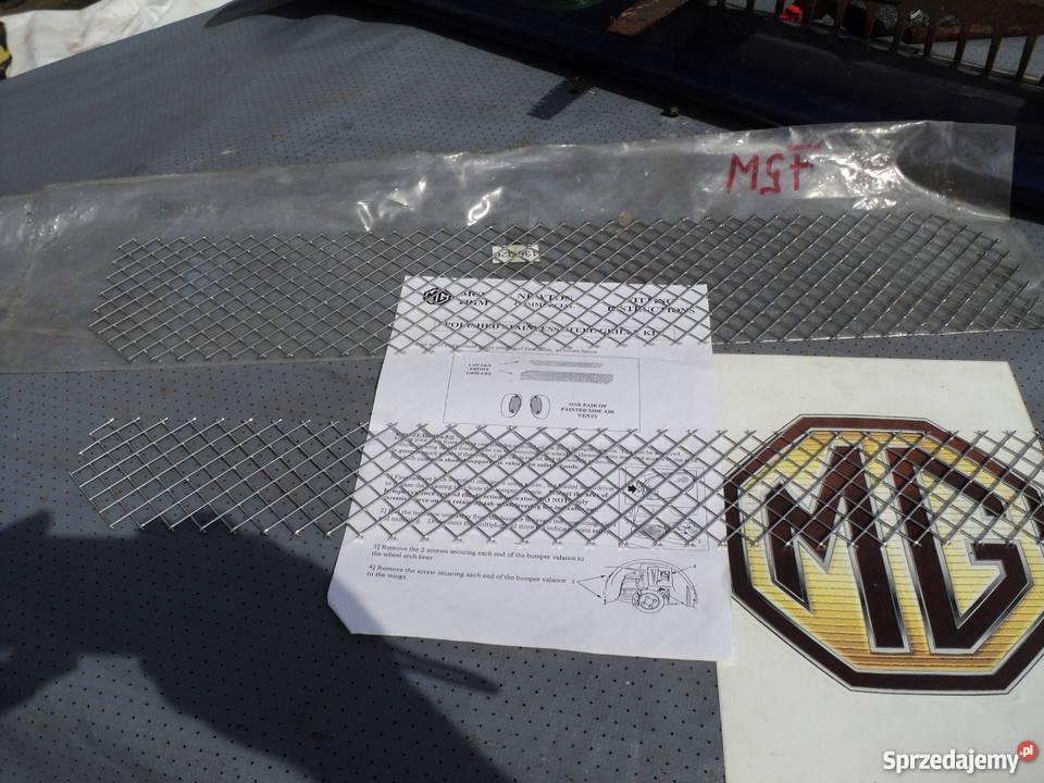 MGF Siatka zderzaka przedniego Nowa sprzedam