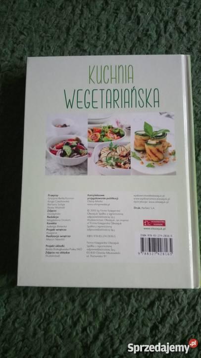 Kuchnia wegetariańska 200 przepisów na dania Rok wydania 2015 Piotrków Trybunalski sprzedam