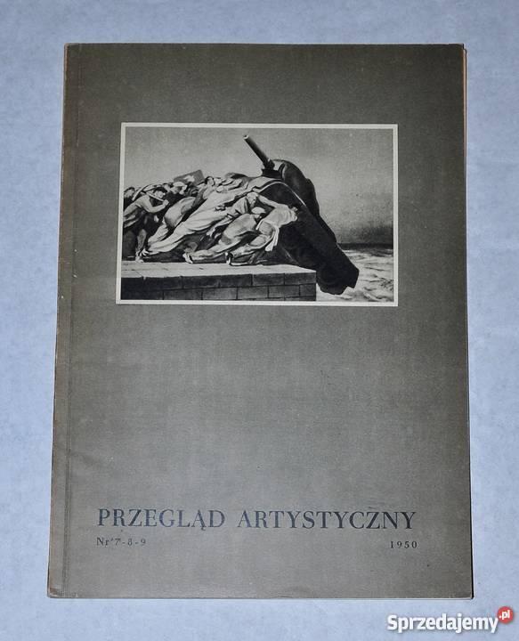 Przegląd artystyczny 112 1950 Warszawa sprzedam