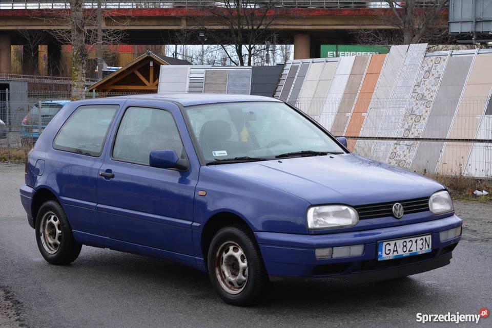 199714 BENZYNA751 WŁAŚCICEL 8 LAT STAN B Hatchback Golf Gdynia