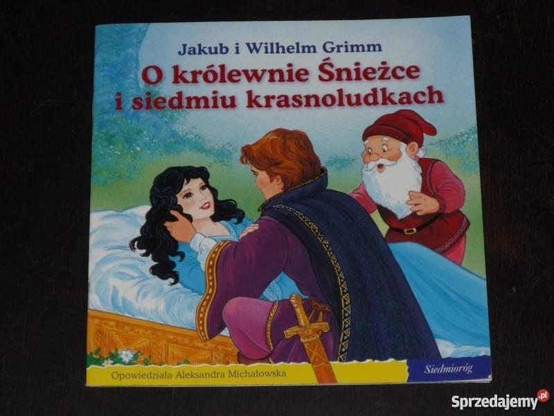 Bajka Braci Grimm O Królewnie śnieżce I 7 Krasnoludkach