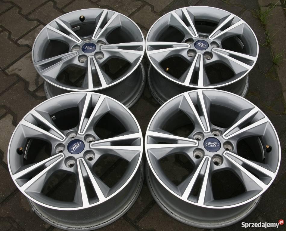 Felgi Aluminiowe 16cali Focus Mk3 5x108 0ryginane Nowy Tomyśl