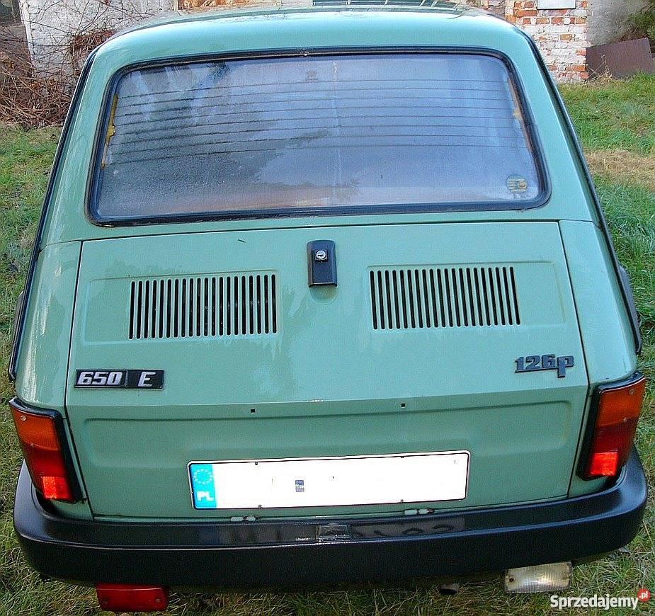 Fiat 126P 650 FL Zarejestrowany w Polsce Warszawa