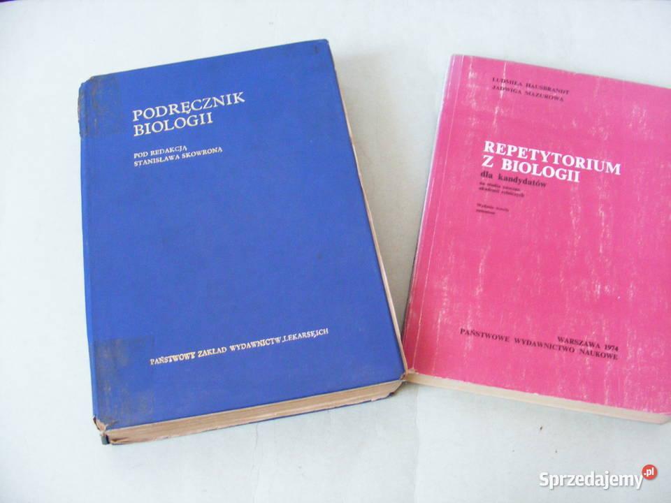 Podręcznik biologii + Repetytorium z biologii