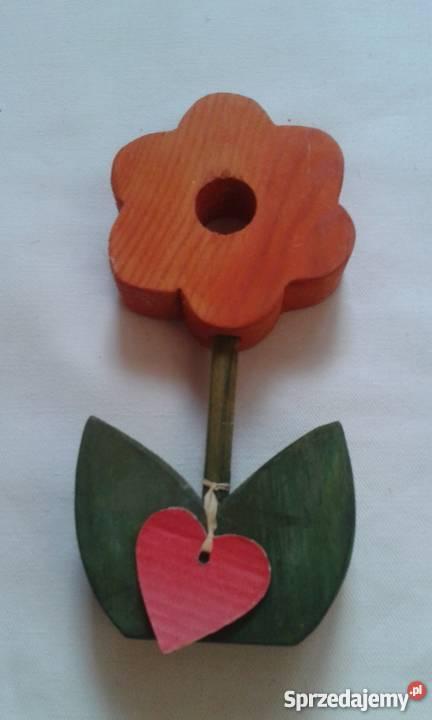 Kwiat drewniany Toruń