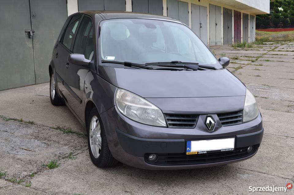 renault scenic 1 9 dci 120 km 2005 nowe turbo zapraszam gdynia. Black Bedroom Furniture Sets. Home Design Ideas
