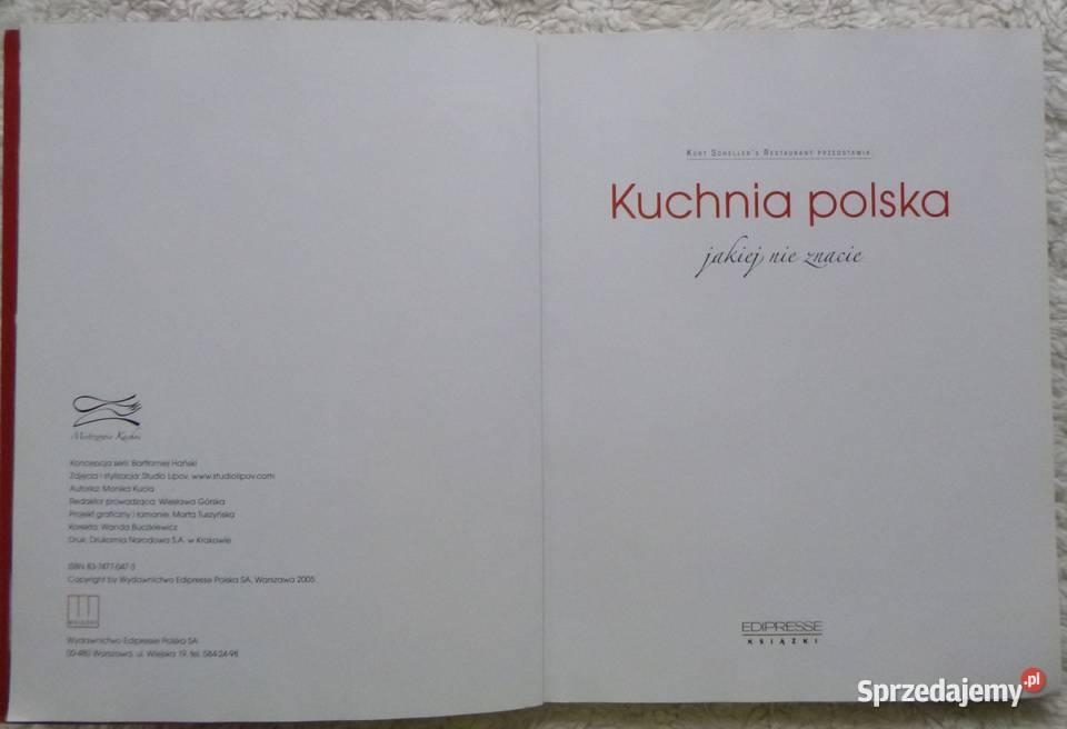 Kuchnia Polska Jakiej Nie Znacie Kurt Scheller Warszawa Sprzedajemy Pl