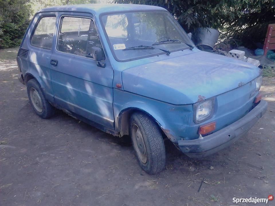 Fiat 126p Fl maluch bez prawa rejestracji całość benzyna mazowieckie Mińsk Mazowiecki