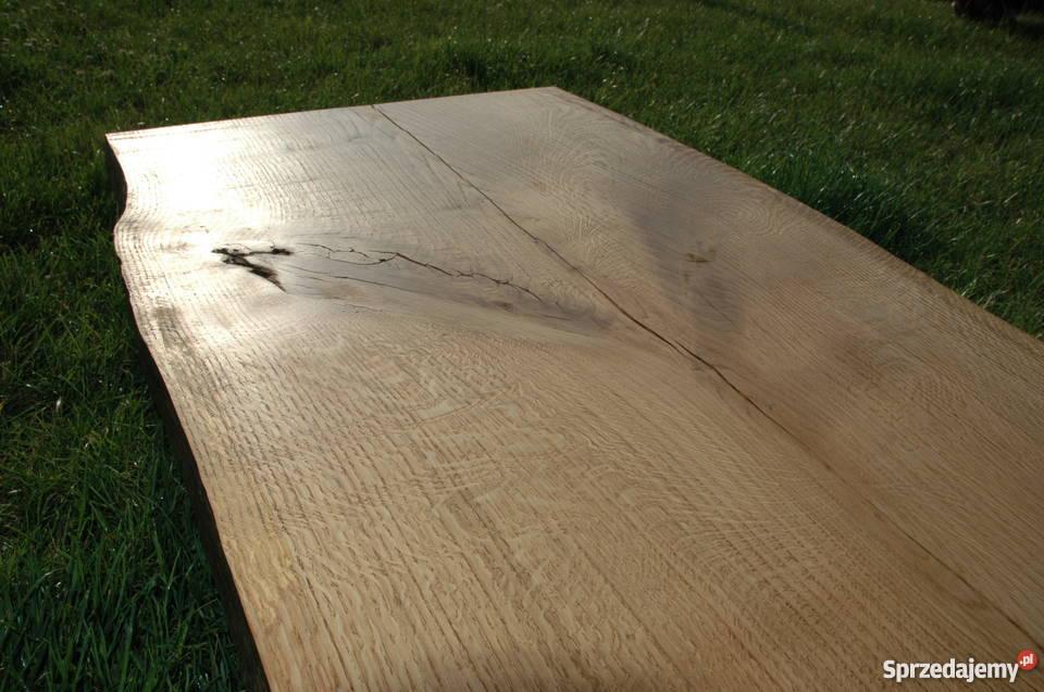 Blat Stolik Stół Dębowy Stare drewno Loft