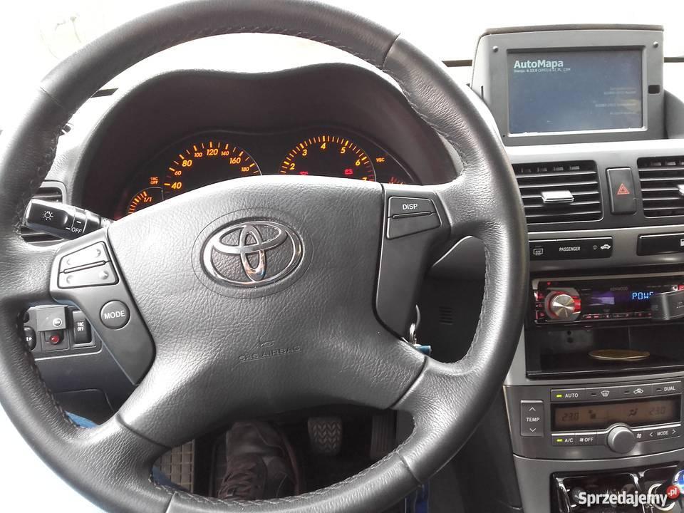 Sprzedam Toyote Avensis T25 Stan Idealny skórzana tapicerka mazowieckie Warszawa