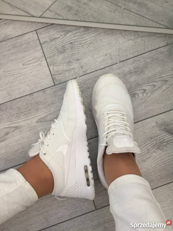 sneakers for cheap 2b7bd a03af Buty sportowe nike białe air thea Gorlice