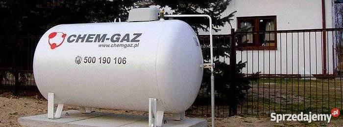 Nowoczesna architektura Zbiornik na gaz 2700 l, butla na GAZ PROPAN LPG NOWY Warszawa FY44