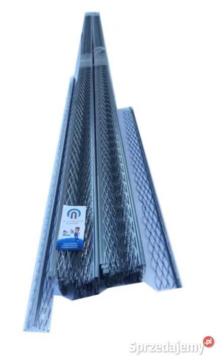 Narożnik Aluminiowy ALUMASTER EXPERT do tynków mokrych 2,5m