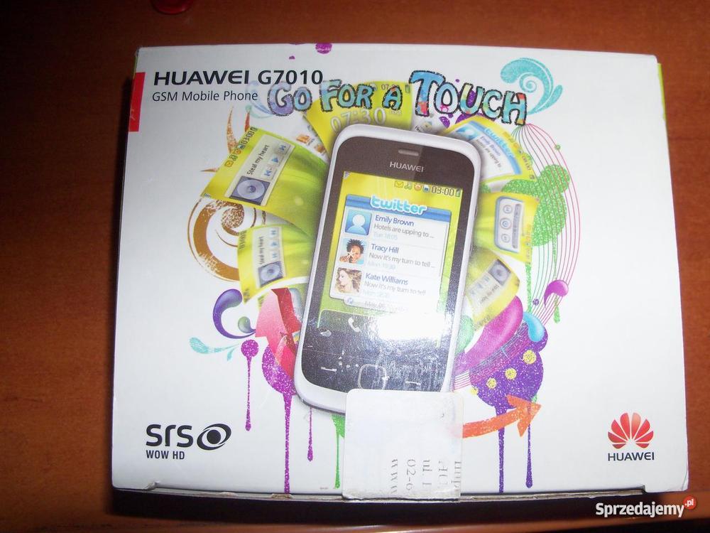 Telefon dotykowy huawei g7010 sprzedam