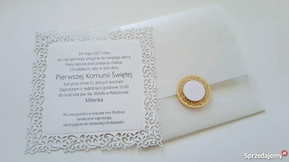 Zaproszenia Na ślub Ze Zdjęciem Sprzedajemypl