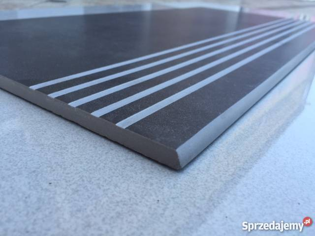 Płytka Schodowa Stopnica 30x60 Szary Grafit Najtaniej łask