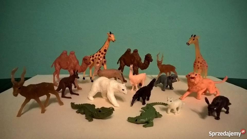 673c5d00ecfc5 Figurki zwierząt - zestaw 17 szt. - cena za całość - stan bd ...