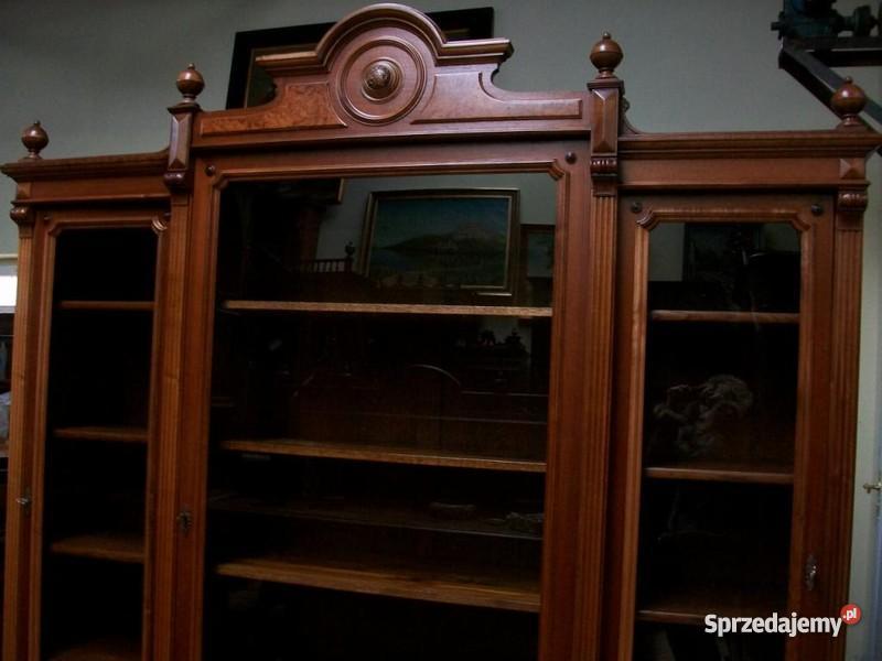 Xix Wieczna Oryginalna Biblioteka Po Renowacji Sprzedajemy Pl