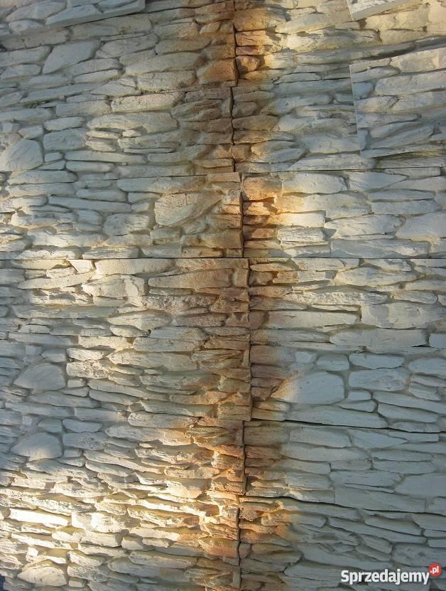 Kamień Dekoracyjny Płytki Gipsowe Imitacja Biały Lub Kolor